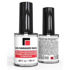Базовое покрытие Milv SOS Damaged Nails восстанавливающее, укрепляющее, 10 мл