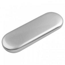 Футляр для инструментов металлический, серебрянный