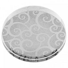 Кристалл для клея Lash Crystal Fantasy, круглый, серебрянный
