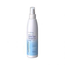 Cпрей-уход Защита и питание с антистатическим эффектом Estel, для всех типов волос, серия Curex Versus Winter 200 мл