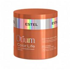 Маска-коктейль Estel, для окрашенных волос, серия Otium Color Life 300 мл