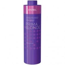 Серебристый шампунь Estel, для холодных оттенков блонд, серия Prima Blonde, 1000 мл