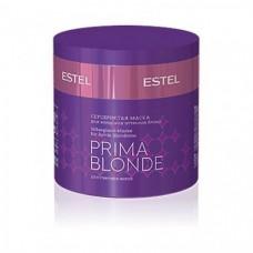 Серебристая маска Estel, для холодных оттенков блонд, серия Prima Blonde, 300 мл