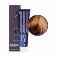 Краска-уход Estel, 9/37, блондин золотисто-коричневый, серия De Luxe