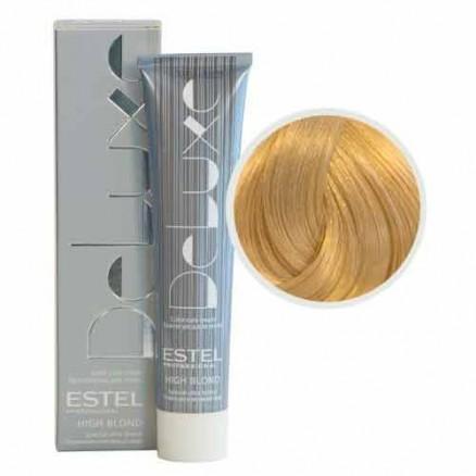 Краска-уход Estel, 113, пепельно-золотистый блондин ультра, серия De Luxe High Blond