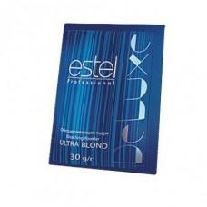 Обесцвечивающая пудра для волос Estel Ultra Blond De Luxe, 30 г. в боксе